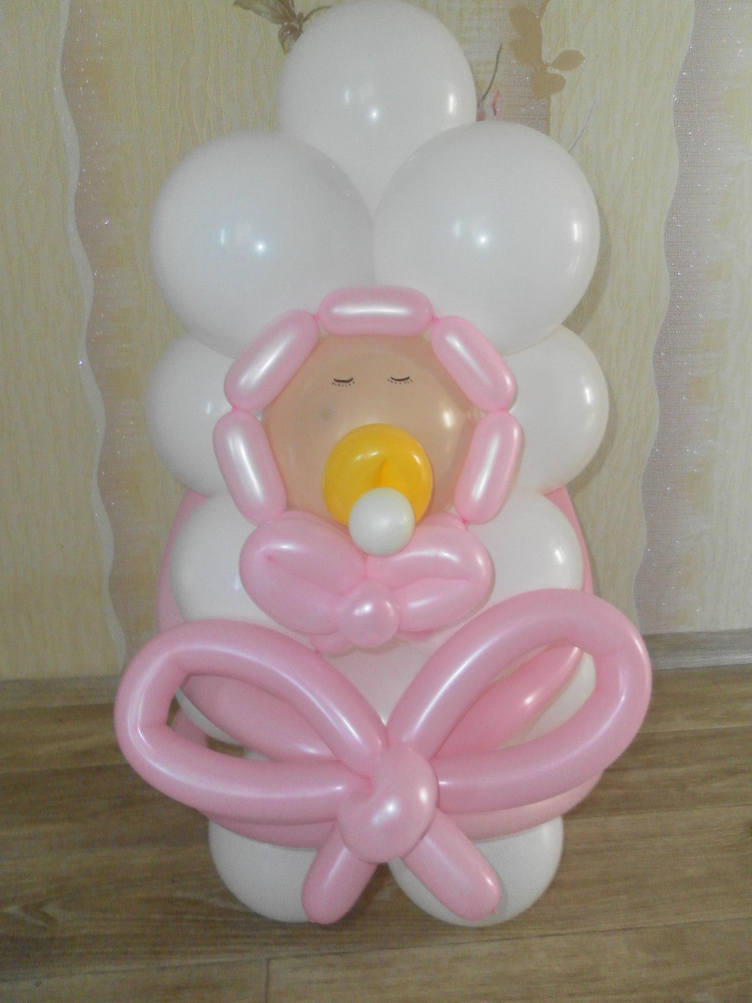 Композиции из шаров фото для ребёнка